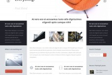 Pixeloph WordPress Theme Preview