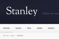 Stanley WordPress Theme