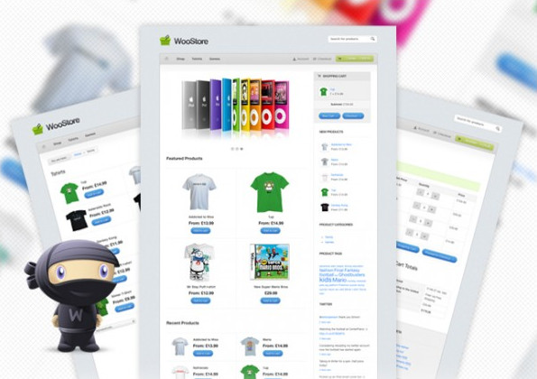WooStore WordPress Theme Preview