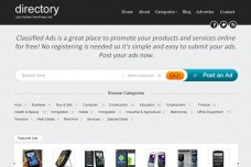 Directory Classified Ads WordPress Theme Preview