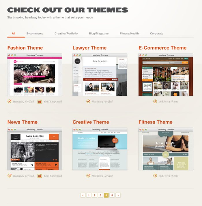 Headway Child Themes