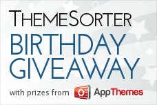 ThemeSorter Birthday Giveaway