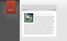 Glider WordPress Theme from WooThemes