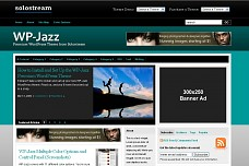 WP-Jazz WordPress Theme from Solostream