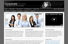 Corporate WordPress Theme from Voosh Themes