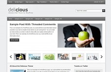 Delicious WordPress Theme from ThemeForest