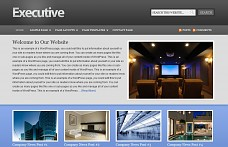 Executive WordPress Theme from ThemeForest