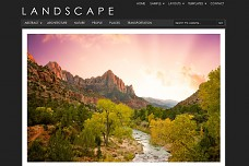 Landscape WordPress Theme from StudioPress