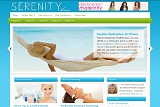 Serenity WordPress Theme from Theme Junkie