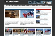 Telegraph WordPress Theme from Gabfire Themes