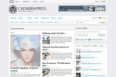 CadabraPress WordPress Theme from WPZOOM