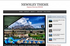 Newsley WordPress Theme from MOJO Themes