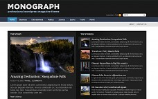 Monograph WordPress Theme from Pro Theme Design