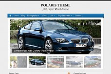 Polaris WordPress Theme from ThemeForest