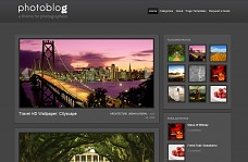 PhotoBlog WordPress Theme from ThemeForest