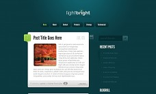 LightBright WordPress Theme from ThemeForest