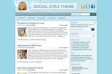 Social Eyes WordPress Theme from WooThemes