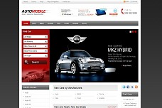 Automobile WordPress Theme from Templatic