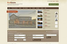 Real Estate WordPress Theme from ThemeShift