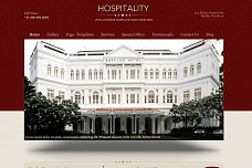 Hospitality WordPress Theme from Themes Kingdom