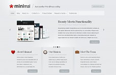 Minimal WordPress Theme from ThemeForest