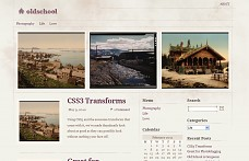 Old School WordPress Theme from Gabfire Themes