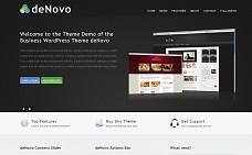 deNovo WordPress Theme from ThemeForest