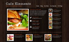 Cafe Elements WordPress Theme from ThemeForest