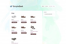 SimpleCart WordPress Theme from ThemeForest