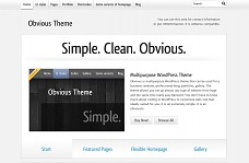 Obvious WordPress Theme from Elegant Themes