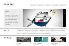 Parallels WordPress Theme from Voosh Themes