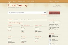 ArticleDirectory WordPress Theme from Templatic