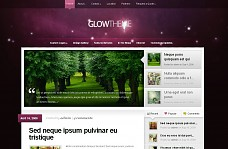 Glow WordPress Theme from ThemeForest