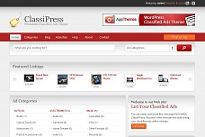 ClassiPress WordPress Theme from PremiumPress