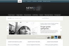 eNews WordPress Theme from ThemeForest