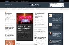 The Local Hyperlocal WordPress Theme from Pro Theme Design