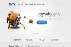 Nova WordPress Theme from Voosh Themes