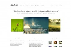 Modest WordPress Theme from ThemeForest