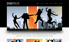 Digitalis WordPress Theme from ChimeraThemes