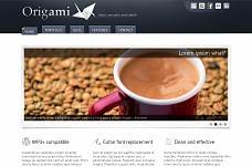 Origami WordPress Theme from MOJO Themes