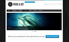 Pride & Joy WordPress Theme from Voosh Themes