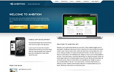 Ambition WordPress Theme from MOJO Themes