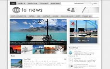 Le News WordPress Theme from WPZOOM