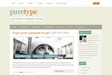 PureType WordPress Theme from Bleepli Themes