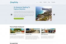 Simplicity WordPress Theme from Themedy