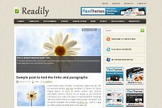 Readily WordPress Theme from MOJO Themes