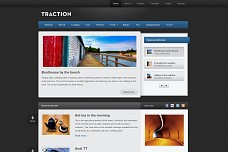 Traction WordPress Theme from The Theme Foundry