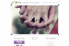 Save The Date WordPress Theme from Gabfire Themes
