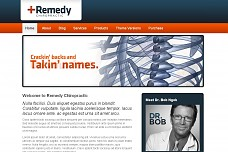Remedy Chiropractic WordPress Theme from PressCoders