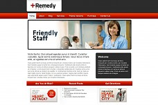 Remedy Heart WordPress Theme from PressCoders